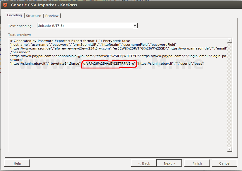 KeePass Error