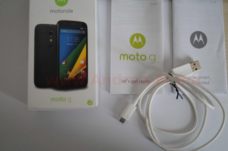 Confezione Motorola Moto G LTE