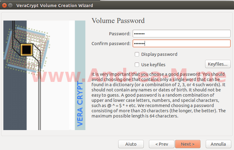 Criptare Una Chiavetta USB Con VeraCrypt