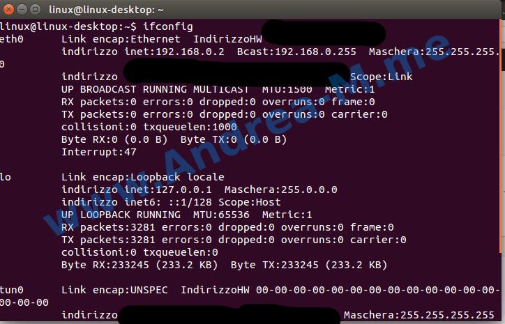 Interfacce di Rete Ubuntu