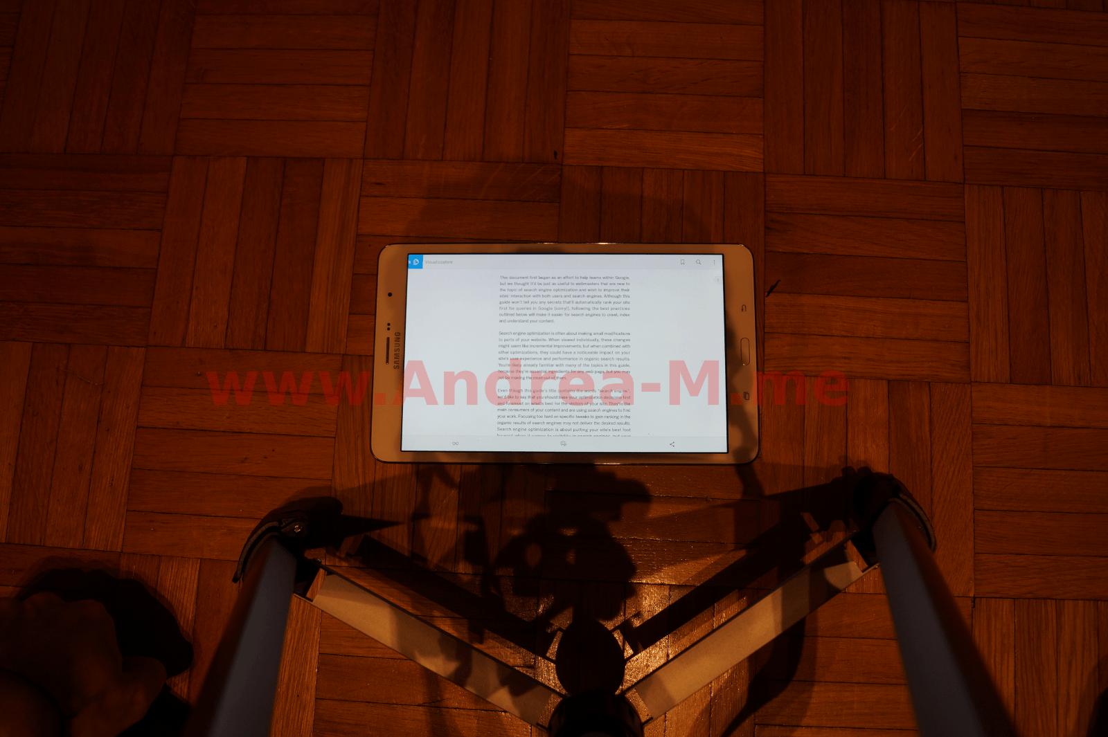 Tablet 8.4 Pollici Landscape Senza Zoom