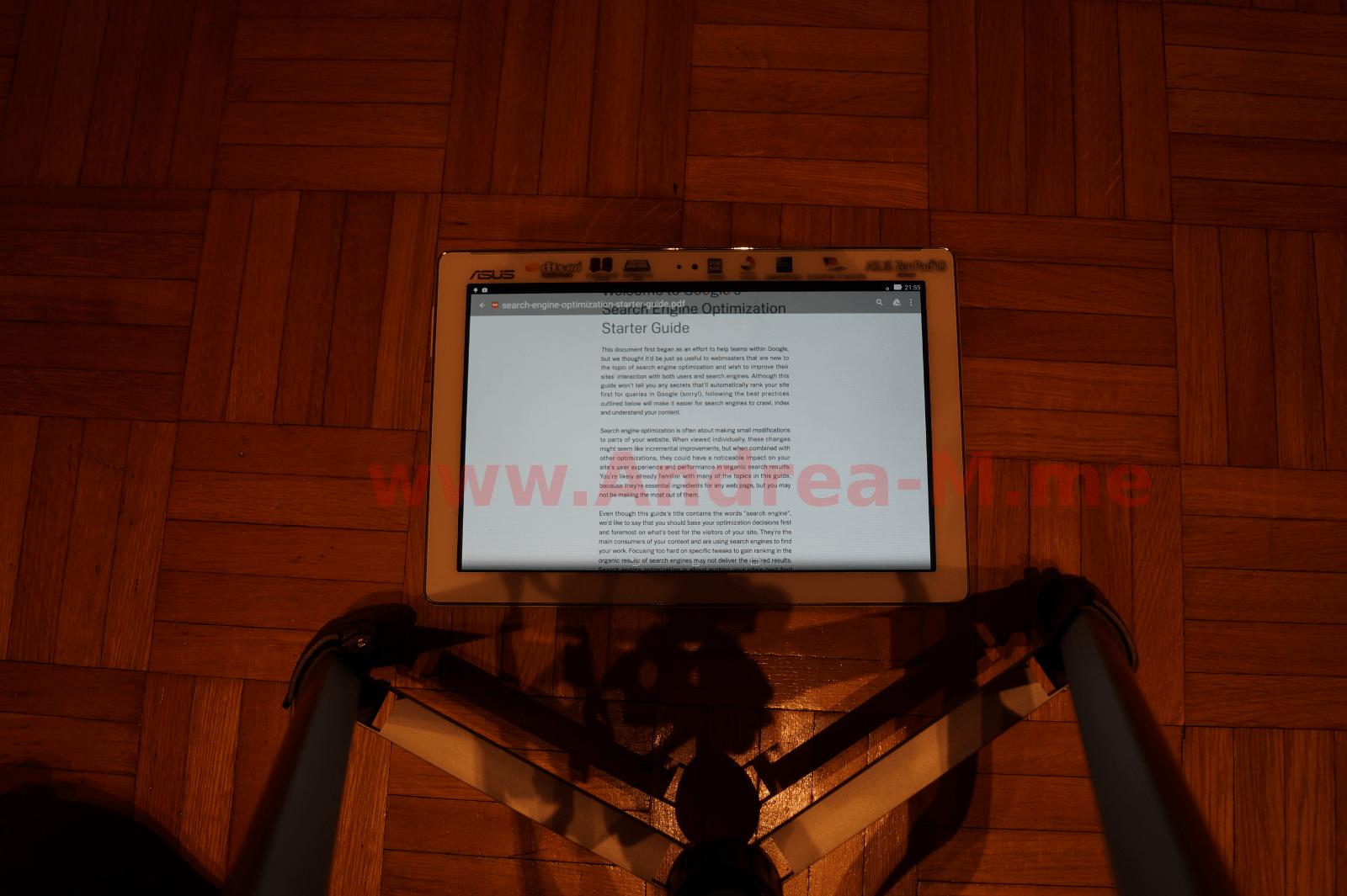 Tablet 10 Pollici Landscape Senza Zoom