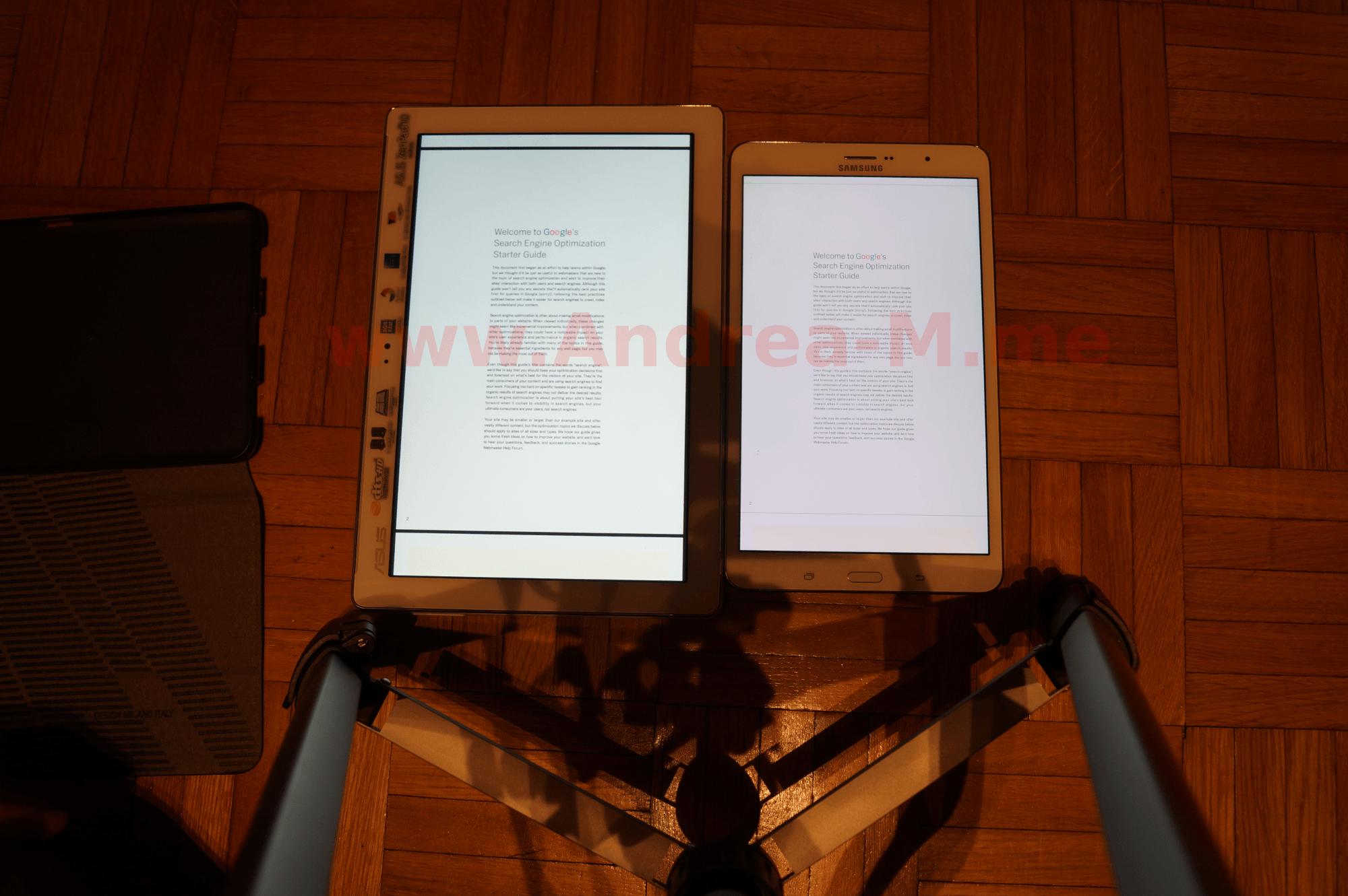 Tablet a Confronto Senza Zoom