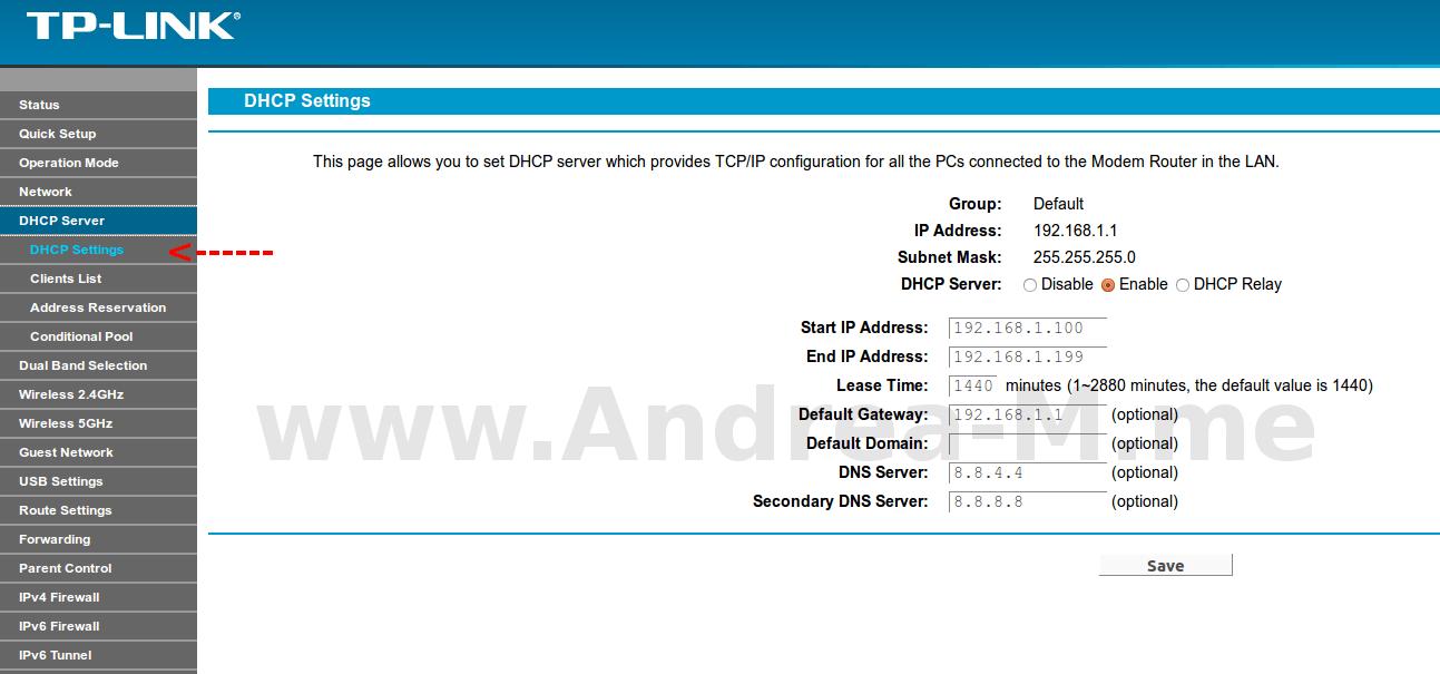 Configurare router fibra