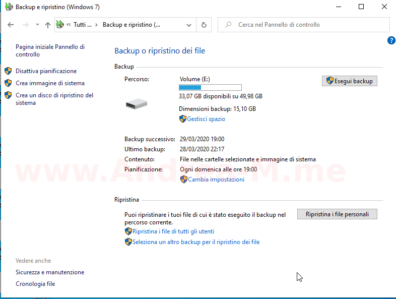 Recupero Dati Windows 10
